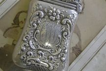 Antique & Vintage Vesta Match Cases / Antique and Vintage wonderful Vesta Cases a d Match Save or Holders in different materials ............ Time to buy an antique is when u see it !