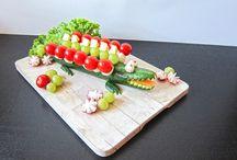 Easy food art for children