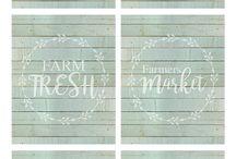 Farmhouse printables 2