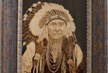 Southwest Inspired Pyrography / Native American Style & Southwestern Pyrography
