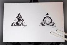 Triangle tattoos