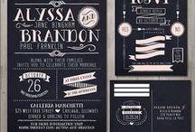 J+C Invites / Wedding invitation inspiration / by Zucchini &Co.