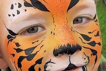 animals face painting
