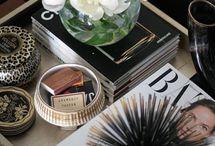 Vignettes / Styling tables, shelves
