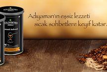 Adıyaman'dan Kahve / Gülümsetendükkan'dan Adıyaman'ın eşsiz lezzeti Osmanlı Kahvesi.  İçindekiler: Kahve, Krema, Keçi Boynuzu, Kakao, Menengiç, Damla Sakızı, Salep