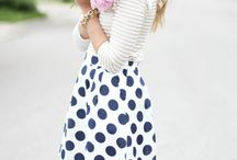 Stripes and Polka Dots / by Lauren Marshall Saldivar