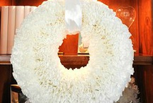 COFFEE FILTER WREATH / by Marilou Kanis