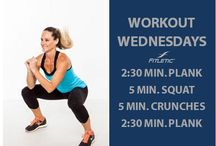 Workout Wednesdays with Fitletic!  / Workout at work every Wednesday with Fitletic!