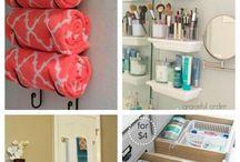 Bathroom Organization / bathroom organizing, organizing, organize ideas, bathroom organize ideas