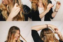 DIY Hairstyles - Csináld magad frizurák / Csináld magad (DIY) frizurák