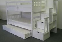 bunks, kid spaces & bedrooms / by Tawny C