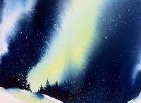 målning och inspiration landskap