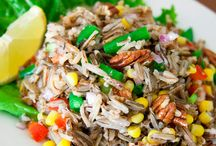 Wild Rice / Recipes and information on EDEN Wild Rice. It is hand harvested by the Minnesota Leech Lake band of Ojibwe, Native Americans. A good source of fiber, protein, niacin B3, magnesium, and zinc. Gluten free. 100% whole grain. / by Eden Foods
