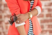 The Gorgeous Coral / Coral outfit, dress and mixes