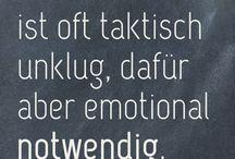 Sprüche/Zitate