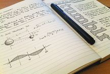 Sketchnotes, typography, notebooks