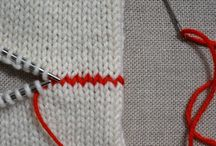 Tips and tricks - knits, sewing etc