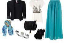 Hijab Outfit / Fashion of Hijabis