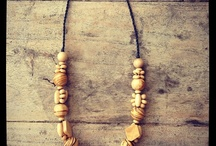 necklaces / handmade jewellery made with natural materials