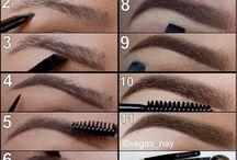 make up cejas
