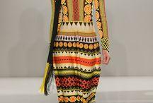 Fashion Is Art / A celebration of fashion prints, lines and angles