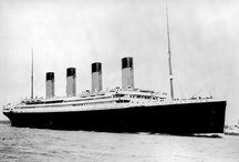 Titanic  / The British ship RMS Titanic sank at 2:20 AM on April 15th 1912, having collided with an iceberg at 11:40 on April 14th. / by Regilla ⚜