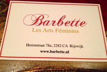 Barbette - Les Arts Féminins / Les Arts Féminins is an Art & Glamorous Lifestyle Salon in the old city center of Rijswijk, The Netherlands.