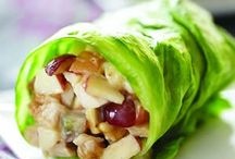 Healthy lunch ideas.. / by Chelsea Brown