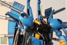 Gundam & Mecha / Gundam and mecha midel kits, painted and/or modified