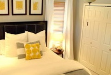 Master bedroom Ideas / by Sarah Hefner