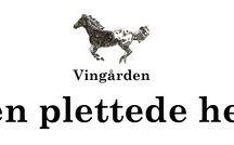 The mottled horse the vineyard