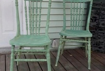 painted chairs / by Linda Pieratt