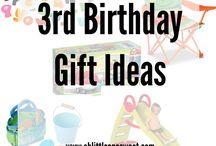 3rd Birthday Gift Ideas