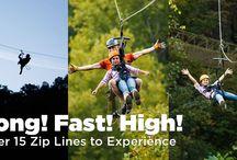 Adventures with foxfiremountain / Mountain Adventures, Safe Zip Line, Zip Line Adventure