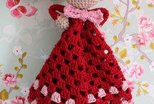 Crocheted and knitted / I want to crochet and knit all of these cute stuff!