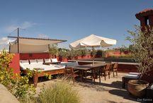 Dar Karma - Terrasses / l'hébergement au Dar Karma ,comprend l'accès à de belles terrasses , piscine, hammam