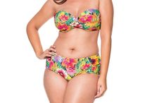 Beautiful Plus Size swimwear / Plus size swimwear is finally receiving the attention that it deserves. While there used to be more limited options for plus size swimwear, it appears that designers have finally seen just how important it is to design beautiful, sexy swimwear in these sizes.