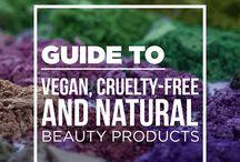 Vegan/cruel-free/natural