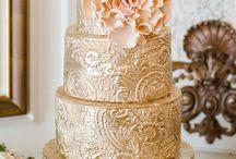 Metallic Cakes / by Renee Conner Cake Design