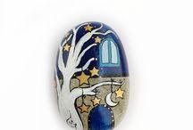 ζωγραφισμενς πέτρες