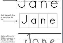 name printing
