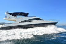 Wave Master / Wave Master is our Sealine motor yacht available for private charters throughout Greece, offering three cabins which can comfortably accommodate up to seven guests along with a dedicated crew of two.