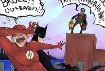Superheroes/Bad guys