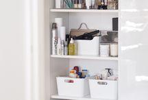 Storage hair and makeup