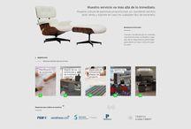 Website de Office Zone / En nuestro sitio web encontrarás todo el catálogo de sillas, sillones y sistemas mobiliarios, además de soluciones corporativas.