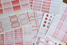 Planner stickers / by Frances Dixon