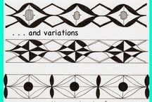 Zentangle and mandalas