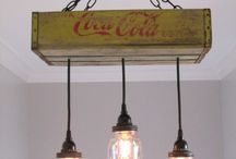recycled cocacola woodcase