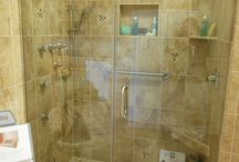 """Bathrooms / Bathroom remodeling ideas for your home.  Keep in mind we can help with options to allow you to """"Age in Place""""."""