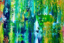 Rainforest Inspired artwork
